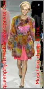 moschino cheap and chic fall/winter 2012/2013