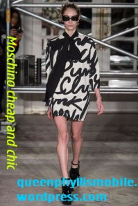 Moschino cheap and chic fall/winter 2013/2014
