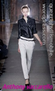 Anthony vaccarello fall/winter 2013/2014