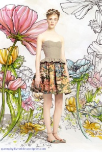 Red valentino spring and summer 2014