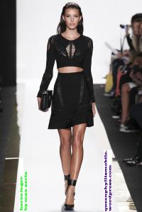 Herve leger by max azria spring and summer 2014