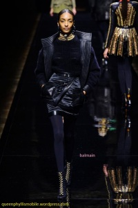 Balmain fall/winter 2014/2015