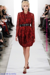 Oscar de la Renta fall/winter 2014/2015