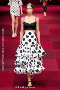 Dolce & Gabbana spring and summer 2015