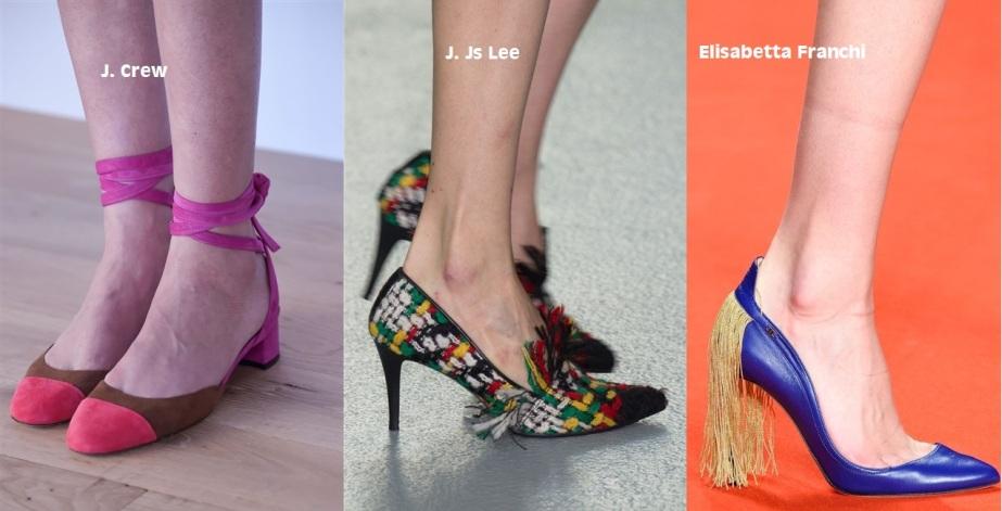 colourblock shoes
