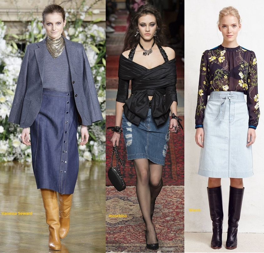 jeans-skirts